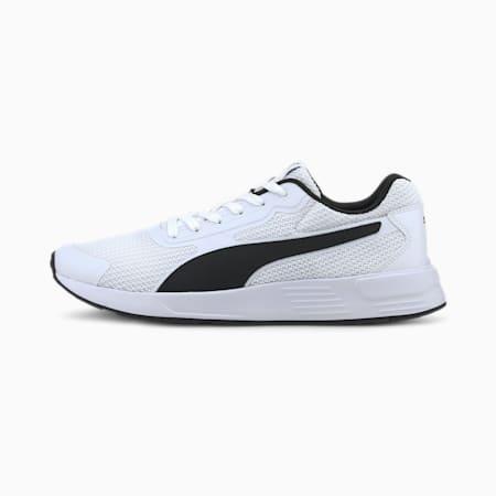 푸마 테이퍼/PUMA Taper, Puma White-Puma Black-Puma White, small-KOR