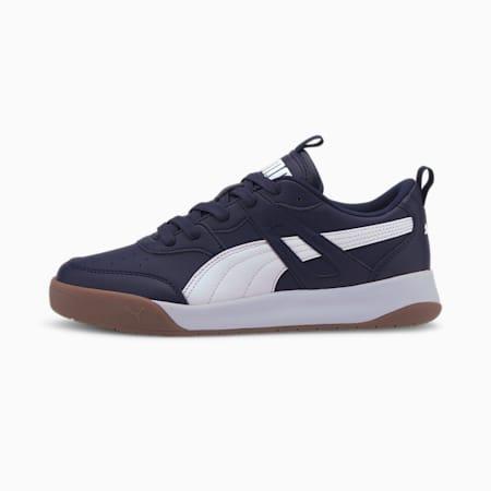 PUMA Backcourt SL Men's Sneakers, Peacoat-Puma White-Peacoat, small