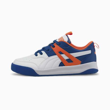 PUMA Backcourt SL Men's Sneakers, White-Lapis Blue-Dragon Fire, small