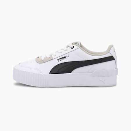 Carina Lift Damen Sneaker, Puma White-Puma Black, small