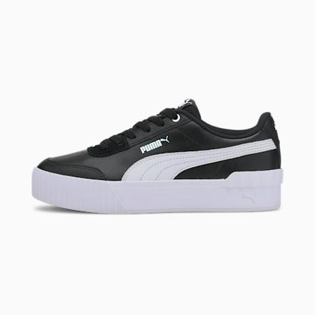 Carina Lift Damen Sneaker, Puma Black-Puma White, small