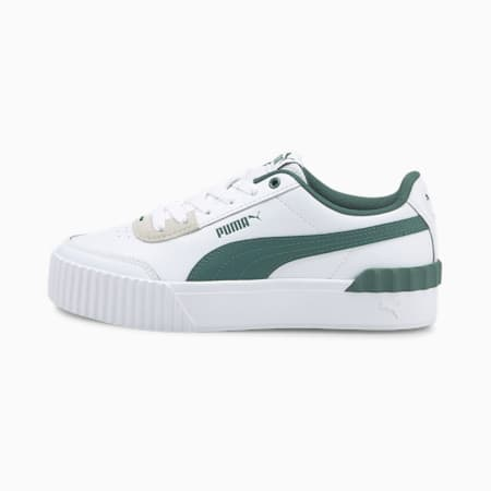 Carina Lift Women's Sneakers, Puma White-Blue Spruce, small-IND