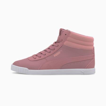 Carina Slim Mid SoftFoam+ Women's Sneakers, Foxglove-Foxglove, small-IND