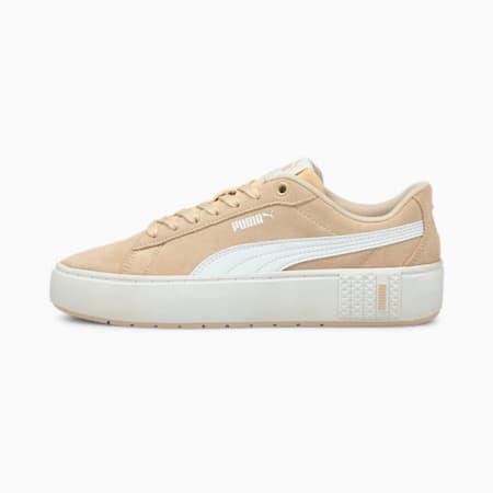 Smash Platform v2 SD sneakers dames, Shifting Sand-Puma White, small