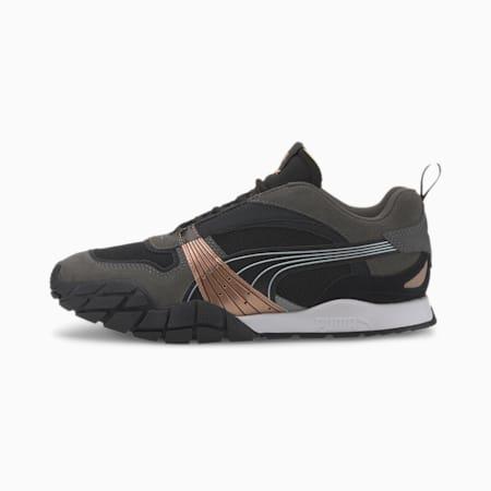 Kyron Wild Beasts Women's Sneakers, Puma Black-Dark Shadow, small
