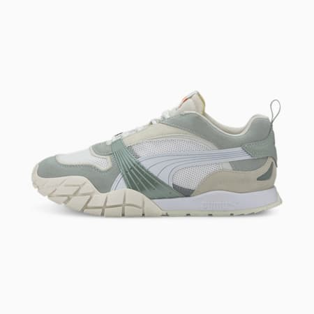 Kyron Wild Beasts Women's Trainers, Aqua Gray-Puma White, small-SEA