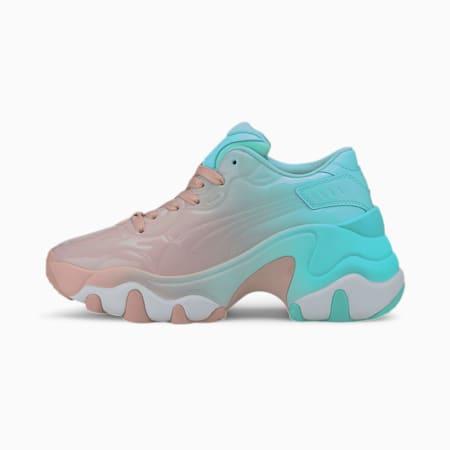 Pulsar Wedge Women's Sneakers, Peachskin-ARUBA BLUE, small