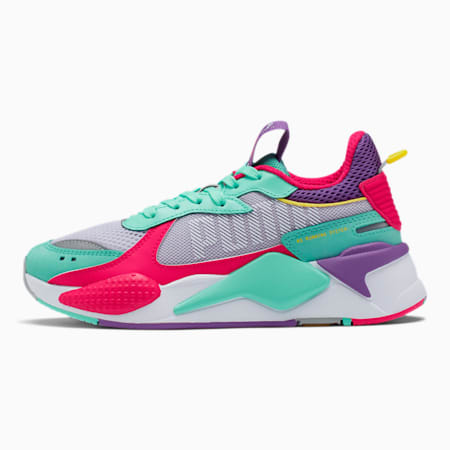 RS-X Bold Women's Sneakers, PurHeather-GrGlimmer-LPotion, small