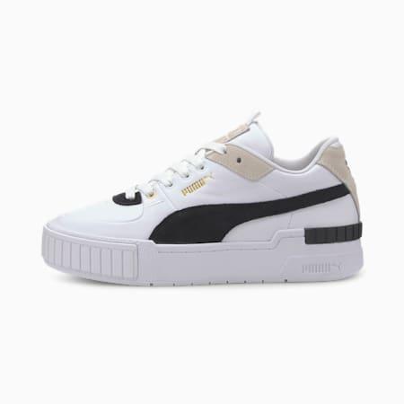 Damskie buty sportowe Cali Sport Heritage, Puma White-Puma Black, small
