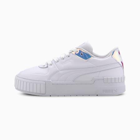 Damskie buty sportowe Cali Glow, Puma White-Purple Heather, small