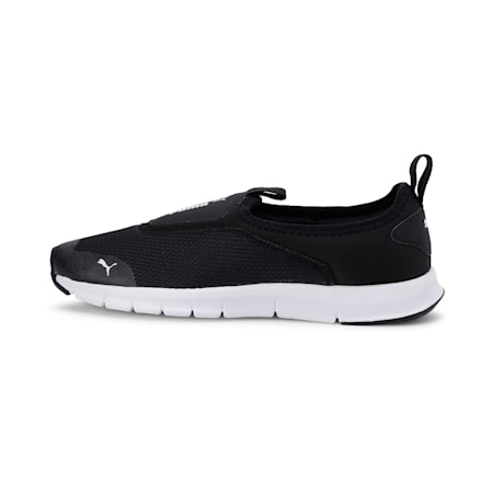 Woodstock Slip On IDP Walking Shoes, Puma Black-Puma White, small-IND