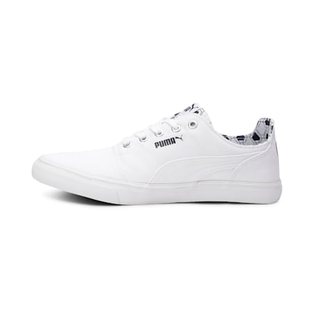 Firm Men's Shoes, Puma White-Peacoat-Silver, small-IND