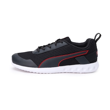 Alacrity IDP Men's Running Shoes, Dark Shadow-High Risk Red, small-IND