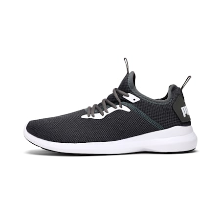 Corode IDP Men's Running Shoes, Dark Shadow-Puma White, small-IND