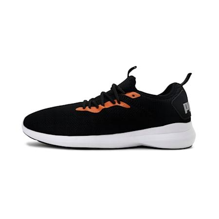 Corode IDP Men's Running Shoes, Puma Black-Jaffa Orange, small-IND