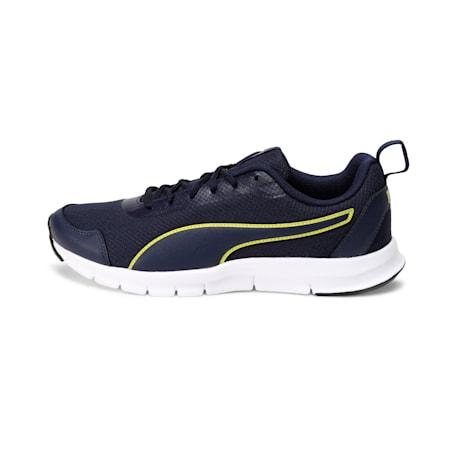 Hurdler Men's Running Shoes, Peacoat-Blazing Yellow, small-IND