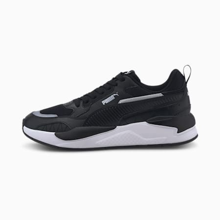 X-Ray 2 Square Trainers, Black-Black-White, small-GBR
