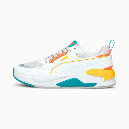X-Ray 2 Square Trainers, Whi-Whi-Gray-Peach-Green, small-GBR