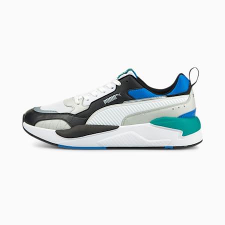 X-Ray 2 Square Trainers, Puma Black-Puma White-Gray Violet-Future Blue-Parasailing, small