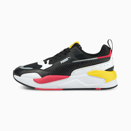 X-Ray 2 Square Trainers, Black-White-P Pink-Dandelion, small-GBR