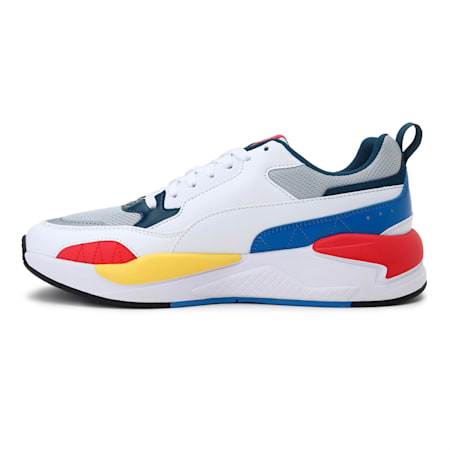X-Ray 2 Square IMEVA SoftFoam+ Shoes, Glacial Blue-Puma White-Nebulas Blue-High Risk Red, small-IND