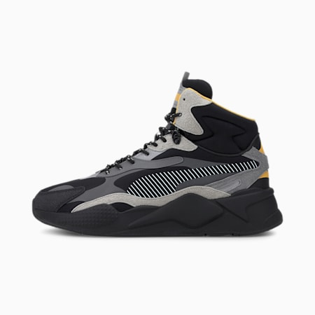 PUMA x HELLY HANSEN RS-X³ Mid Herren Sneaker, Puma Black-QUIET SHADE, small
