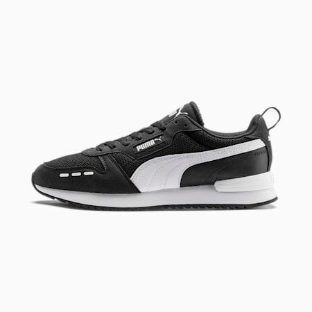 R78 Runner Trainers, Puma Black-Puma White, small