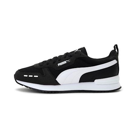 PUMA R78  Unisex Sneakers, Puma Black-Puma White, small-IND