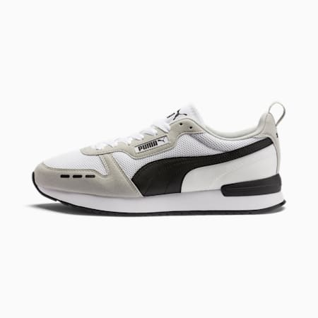 R78 Runner Sneaker, White-Gray Violet-Black, small