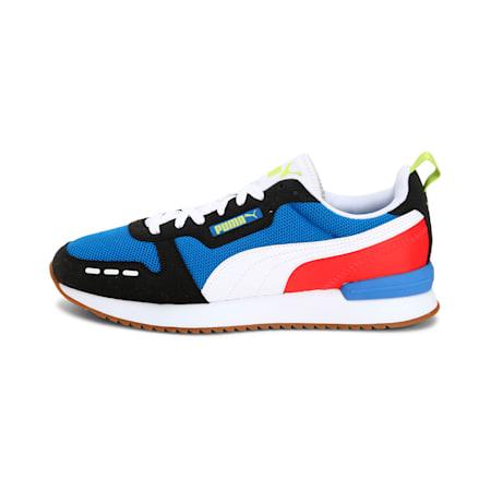 PUMA R78  Unisex Sneakers, Palace Blue-Puma Black-Puma White, small-IND