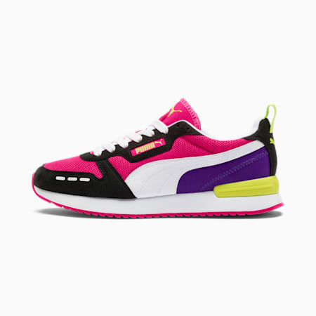 R78 Runner Trainers, Beetroot Purple-Black-White, small