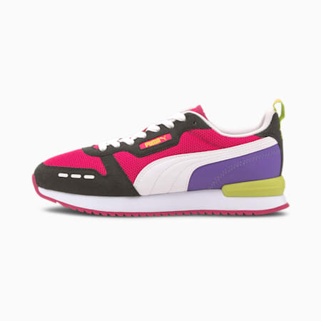 R78 Runner Trainers, Beetroot Purple-Black-White, small-GBR