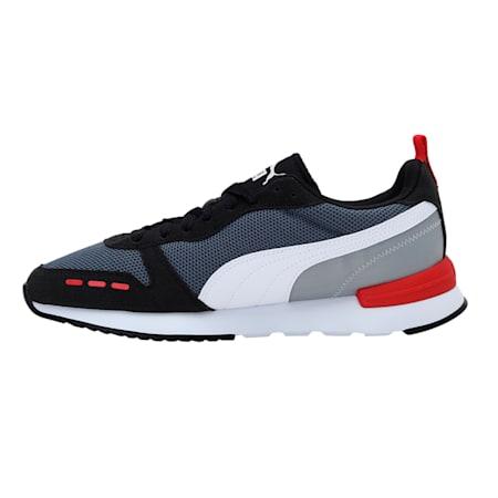 PUMA R78  Unisex Sneakers, CASTLEROCK-Puma Black-Puma White, small-IND