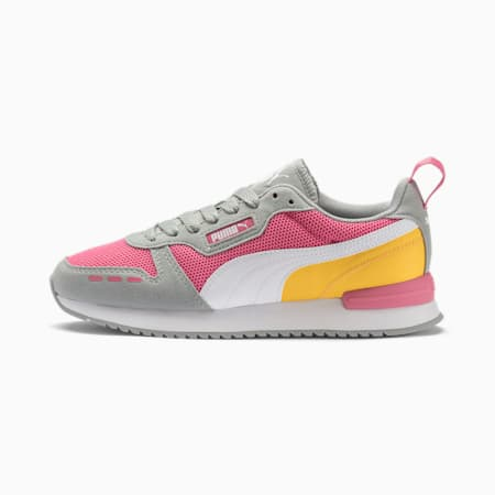 R78 Runner Sneaker, Bubblegum-High Rise- White, small