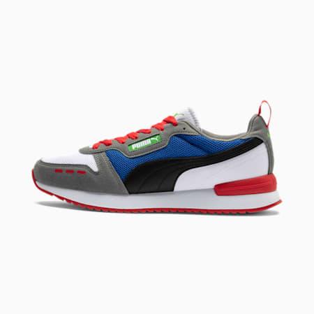 PUMA R78 Men's Sneakers, White-Puma Black-Ultra Gray, small