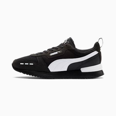 R78 Runner Sneaker, Black-White-White, small