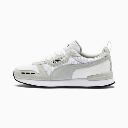 R78 Runner Sneaker, Puma White-Gray Violet, small