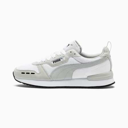 R78 Runner Trainers, Puma White-Gray Violet, small