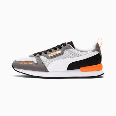 R78 Runner Trainers, Gray Violet-White-CASTLEROCK, small