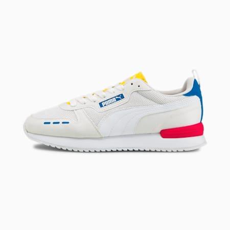 PUMA R78  Unisex Sneakers, Puma White-Puma White-Future Blue, small-IND