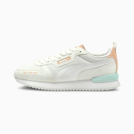 R78 Runner Trainers, White-White-Peach Parfait, small-GBR