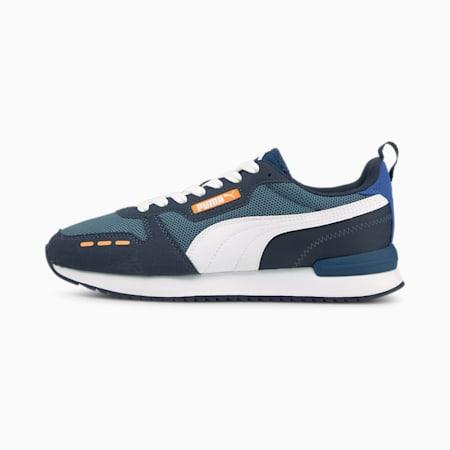Zapatos deportivos PUMA R78, China Blue-White-Spellbound, pequeño