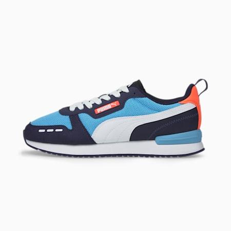 Zapatos deportivos PUMA R78, Team Light Blue-White-Peacoa, pequeño