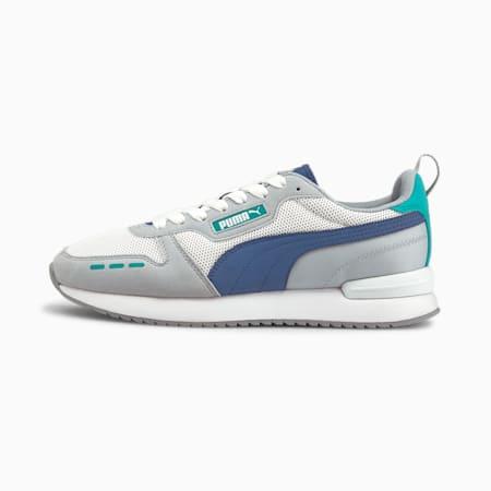 Espadrilles PUMA R78 , Blanc-Limoges-Bleu glacial, petit