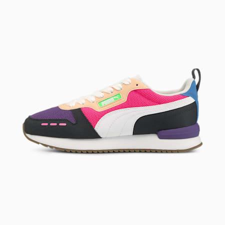 PUMA R78  Unisex Sneakers, Prism Violet-Puma White-Puma Black, small-IND