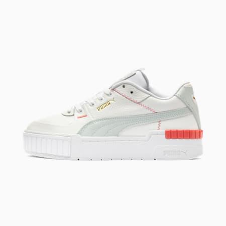 Zapatos deportivos Cali Sport Pastel para mujer, Puma White-Plein Air, pequeño