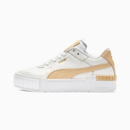 Cali Sport Pastel Women's Sneakers, Puma White-Natural Vachetta, small