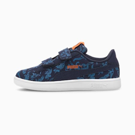 Smash v2 Archeo V SoftFoam+ Kids' Sneakers, Lapis Blue-Peacoat, small-IND