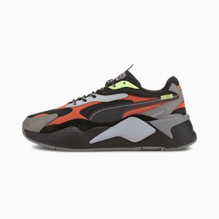Scarpe da ginnastica da ragazzo RS-X³ City Attack, Puma Black-Paprika, small