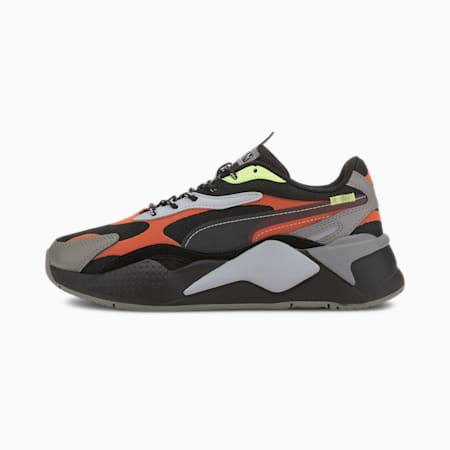 RS-X³ City Attack Youth Trainers, Puma Black-Paprika, small-GBR